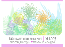 005. flowery-circular brushes by mentahelada