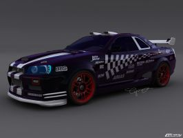 Nissan Skyline 4 by cipriany