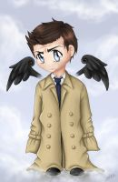 Cas - The Trench Coat Angel. by Ryuutsu