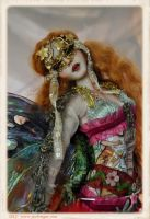 OOAK Deco Style Ball jointed art doll ~ Sutherland by SutherlandArt