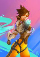 Tracer Overwatch by pa3kpanda