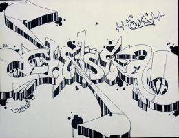 Chelsea graffiti request by allyx-sway