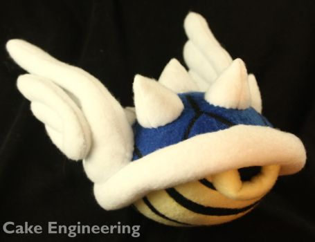 Mario Blue Koopa Shell by cake-engineering