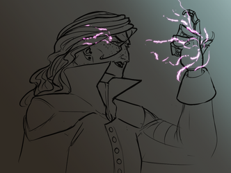 Witch Bolt by Weeburdoodles