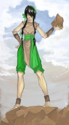 avatar - toph grown up by jelly6baby