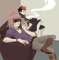 chill out by crowvenchi