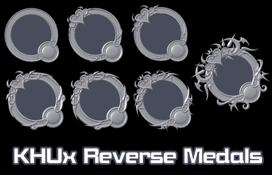 [Model Preview] KHUx - Reversed Medals by makaihana975