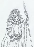 Queen Boudica of the Iceni by KidaGreenleaf