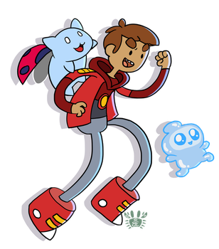 Bravest Warriors - Danny! by britgorlicki