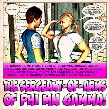 The Sergeant of Arms of Phi Mu Gamma by Lingster