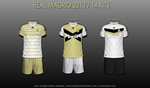 Real Madrid 2013 / 14 Kits by napolion06
