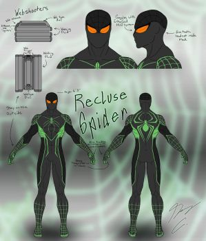 Recluse-Spider Suit Design Final by Guyver89