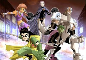 Teen Titans by BrandonFranklin