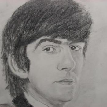 George Harrison by TheNymphInYellow