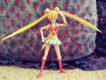 Super Sailor Moon papercraft by Amber2002161