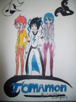 NEW Manga comming soon! TOMAMON Guardian Avengers by RikoriStorm