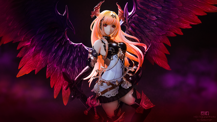 Dark Angel Olivia by Bellechan