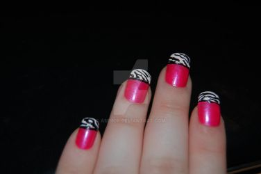 decorated nails by aseror