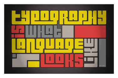 Typography-Language by hopefulpoet