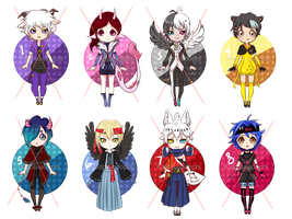 [CLOSED] Collab Adoptable Batch by Kaidou-adopts