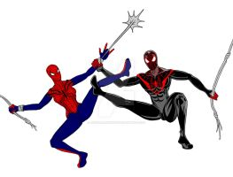 May Parker Vs Miles Morales by JesseAllshouse