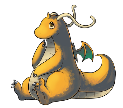 Dragonite Chibi by Phycofox