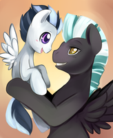 Thunderlane and Rumble by Ende26