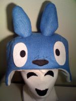 TOTORO Blue Hat by tacksidermia