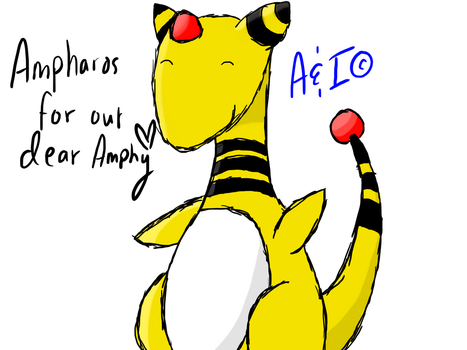 Ampharos for admin Amphy by PatMonahanFangirl