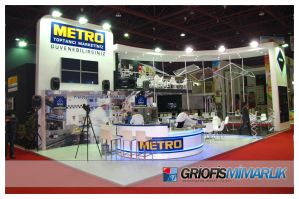 METRO Exhibition Stand Photo by GriofisMimarlik