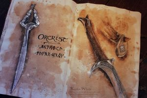 Orcrist: The Sword of Thorin Oakenshield by Kinko-White