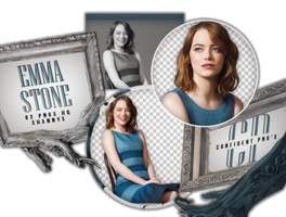 Png Pack 576 // Emma Stone by confidentpngs