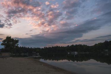 Baldwin Lake, Michigan by BreAnn