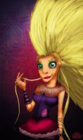 Repunzel, Tease Up Your Hair by Phillippeaux