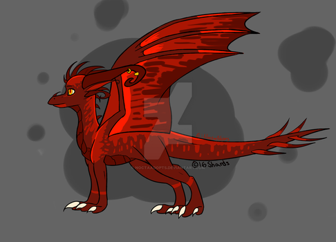 Blood dragon adoptable - CLOSED by NoctaAdopts