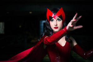 The Scarlet Witch by weirdtakoyaki