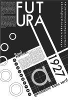 Futura Typeface Poster by RMarDesign