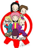 Code Lyoko Group Photo by Lonewind