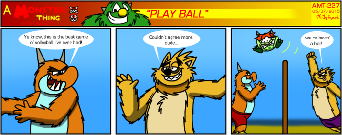 AMT - Play Ball by BluebottleFlyer