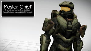[MMD] Master Chief - DL by MrWhitefolks