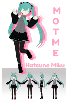 MOTME: MMD-Mall Miku +DL by garbagegobble
