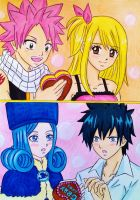 Nalu / Gruvia: Happy Valentine day by dagga19 by dagga19