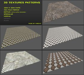 Free 3D textures pack 12 by Yughues