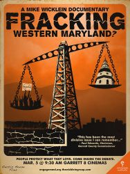 'Fracking Western Maryland?' Official Movie Poster by ClintonKun