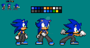 Zack V3.5 [New Colour Palete] by SonicDBZFan4125