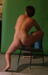 Classical Back Male Nude by TheMaleNudeStock