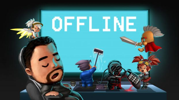 Offline screen by Wenart