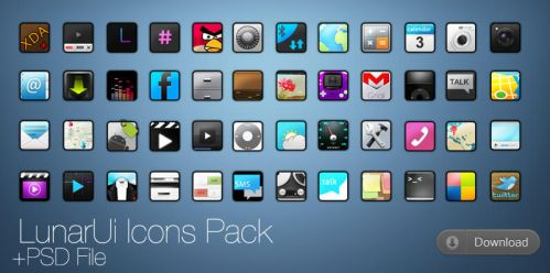 LunarUi Icons by R3D-X7