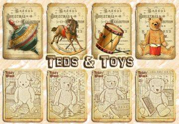 Teds and Toys by auRoraBor