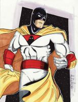 June 2 - Space Ghost by KileyBeecher